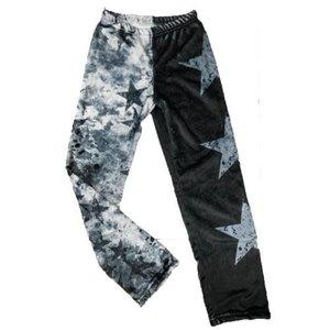 Grunge Stars Fuzzy Pants