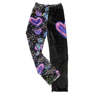 Swiggle Hearts Fuzzy Pants