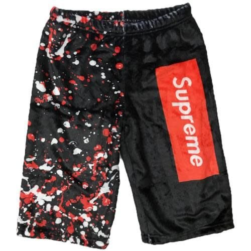 Supreme Long Fuzzy Shorts