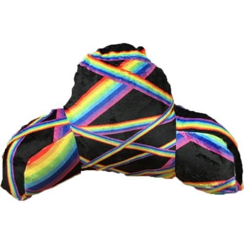 Rainbow Stripe Boyfriend Pillow