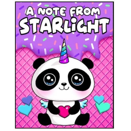 Pandacorn Notecards