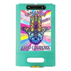 Hippie Hamsa Clipboard