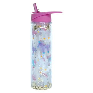 Unicorn and Stars Water Bottle