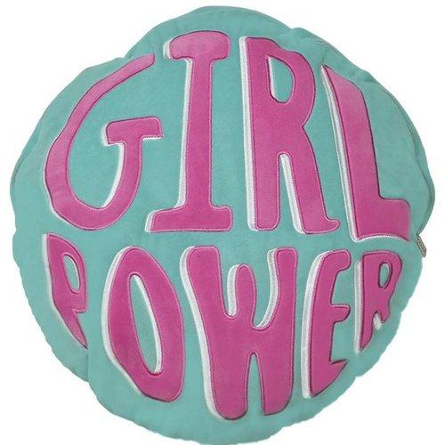 Girl Power Fleece Pillow