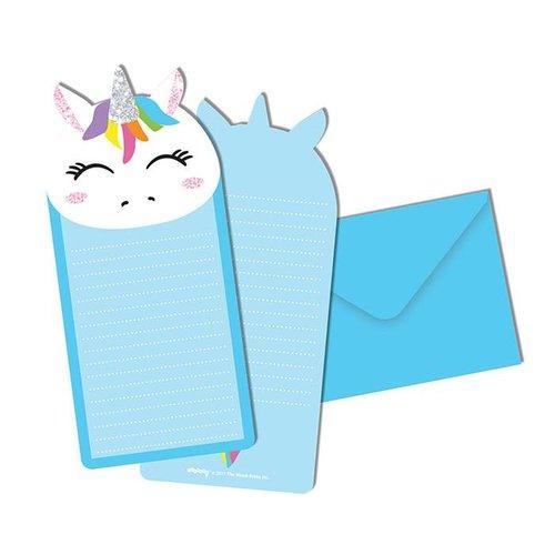 Unicorn Glitter Notecards