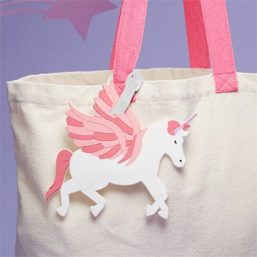 Unicorn Luggage Tag
