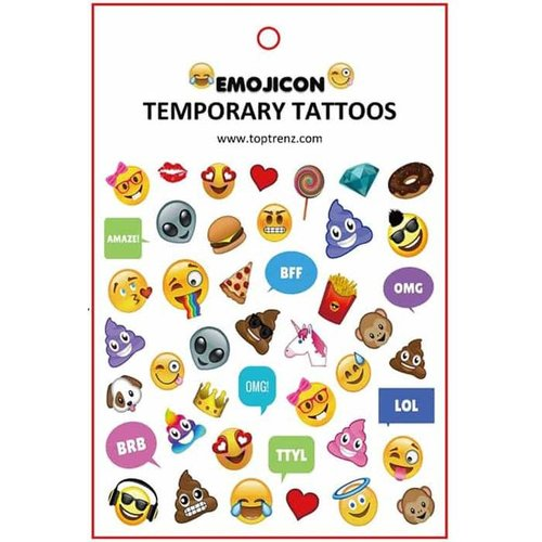 Emojicon Temporary Tattoos