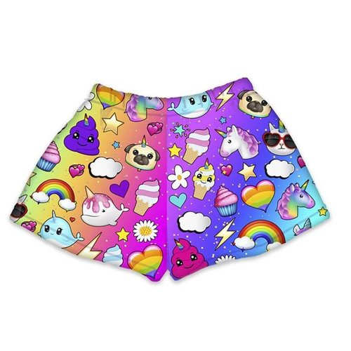 Dream of Unicorns Fuzzy Shorts