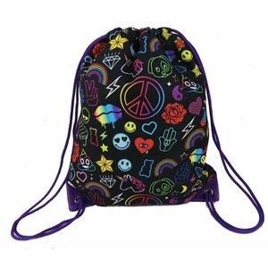 Fleek Drawstring Sling Bag