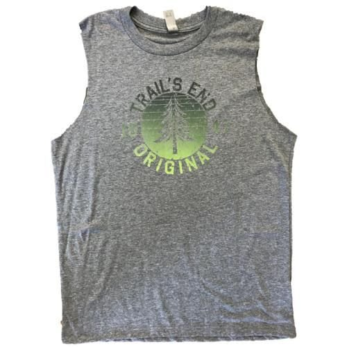 Girls's Vintage Camp Logo Tank