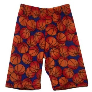 Basketballs Fuzzy Shorts