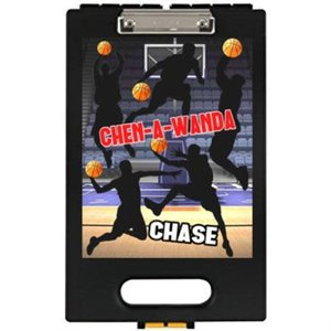 Basketball Silhouette Clipboard