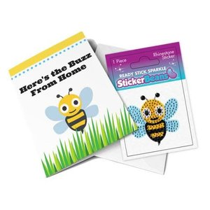 Greeting Card with StickerBean