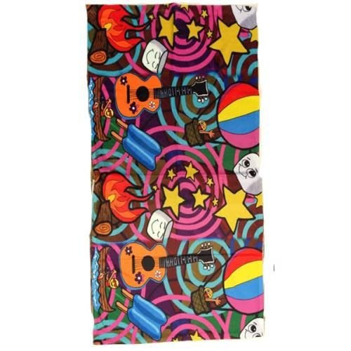 Camp Swirl Towel