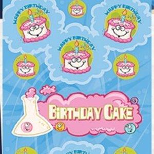 Birthday Cake Stink Factory Stickers