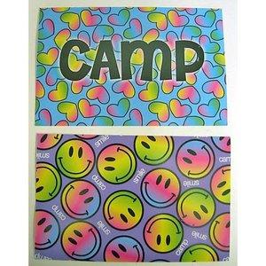Purple Smile Postcard Set