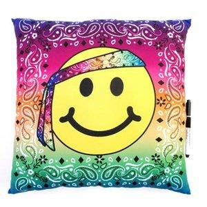 Hippie Emoji Autograph Pillow