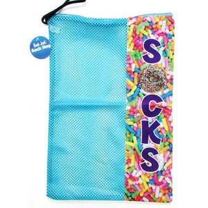 Sprinkles Mesh Sock Bag