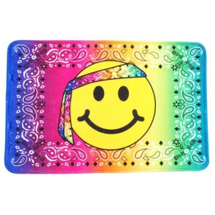 Hippie Emoji Bandana Mat