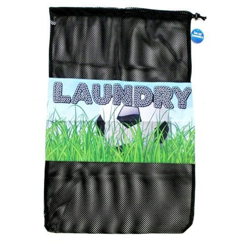 Soccer Field Mesh Laundry Bag