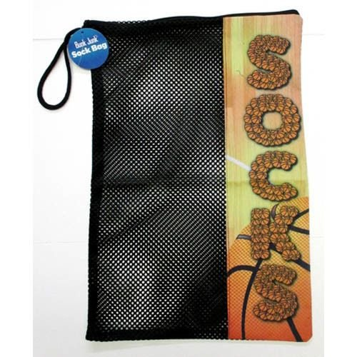 Basketball Court Mesh Sock Bag