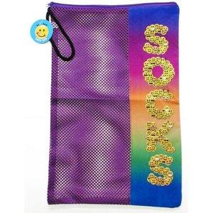 Emoji Letters Sock Bag