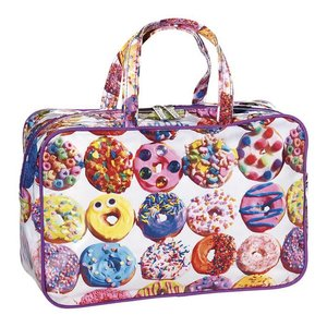 Sweet Donuts Large Cosmetic Bag
