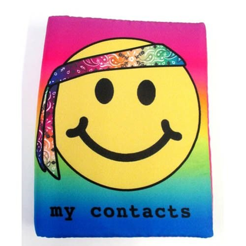 Hippie Emoji Address Book