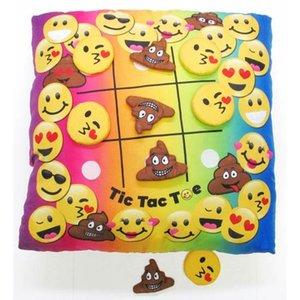 Tic Tac Toe Emoji Pillow