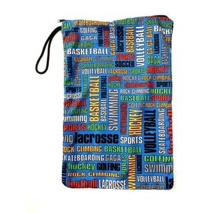 Graffiti Sports Mesh Sock Bag