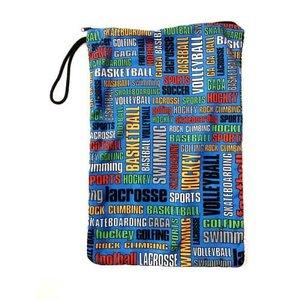 Graffiti Sports Mesh Sock Bag