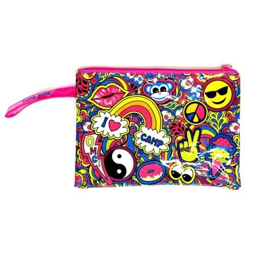 Paisley Camp Collage Wet Bag