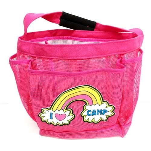 Rainbow Camp Shower Caddy