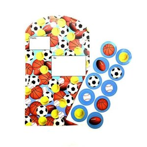Sport Ball Foldover Stationery