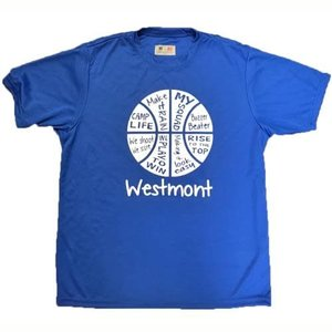 Basketball Words Performance Shirt