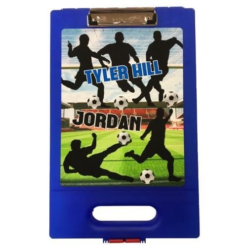 Soccer Silhouettes Clipboard