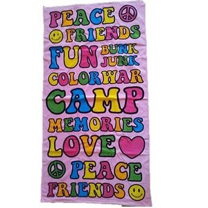 Camp Words Towel