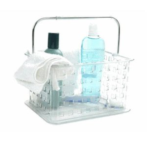 Clear Plastic Shower Caddy