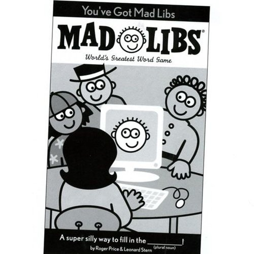 You've Got Mad Libs