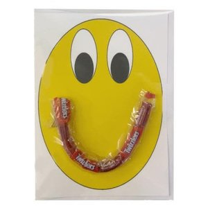 Smiley Face Candy Card