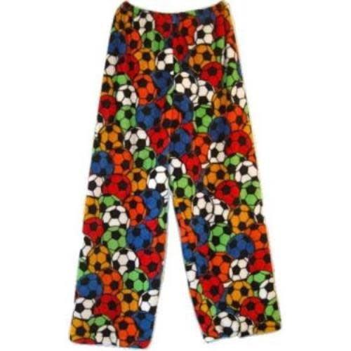 Multi Soccer Fuzzy Pants