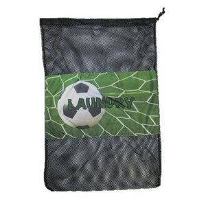 Soccer Goal Laundry Bag