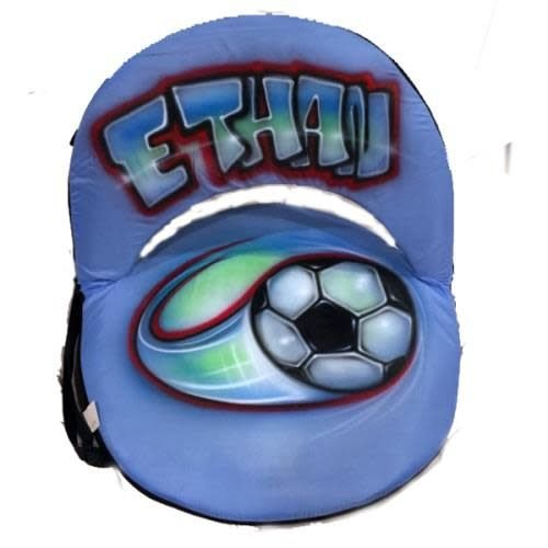 Sports Airbrushed Ground Chair