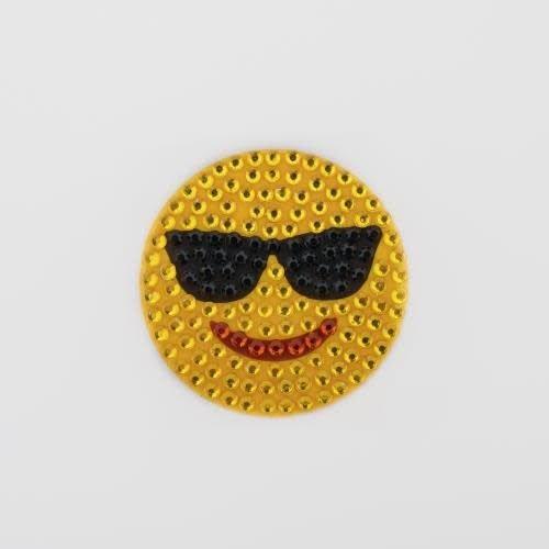 Sunglasses Smiley StickerBean