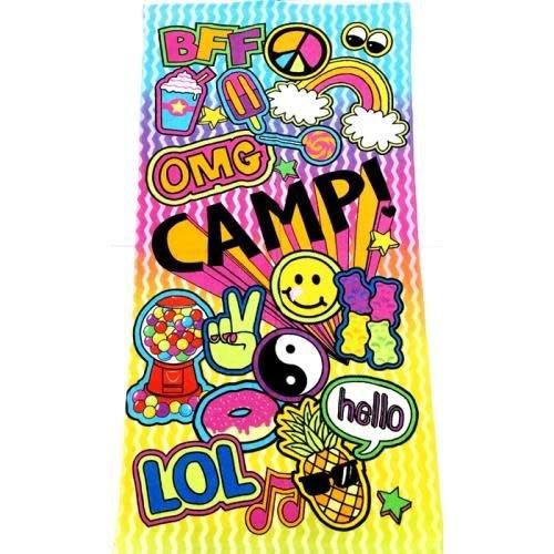 Pop Camp Patch Towel