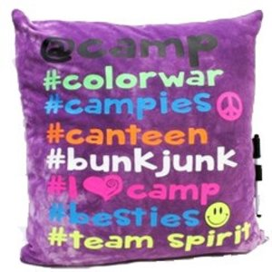 # Camp Autograph Pillow