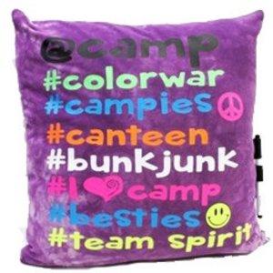 # Camp Autograph Pillow