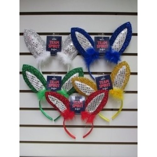 Color War Bunny Headband