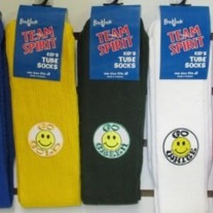 Smiley Color War Socks