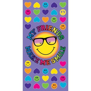 Smiley Sunglasses Towel